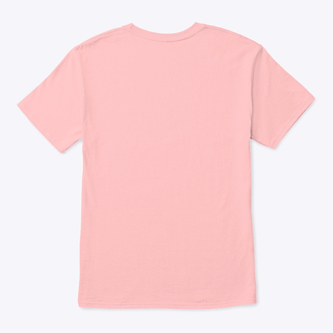 Graziana E Rocco   Learn Amo Collection Pale Pink T-Shirt Back