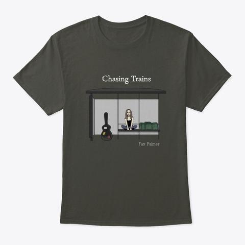 Chasing Trains Apparel Smoke Gray T-Shirt Front