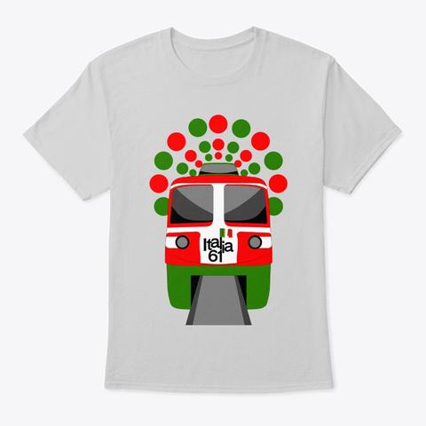 Italia '61 Alweg Monorail Light Steel Camiseta Front