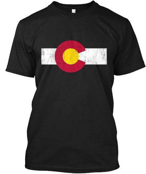 C Black T-Shirt Front