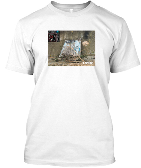Elements: Create White T-Shirt Front