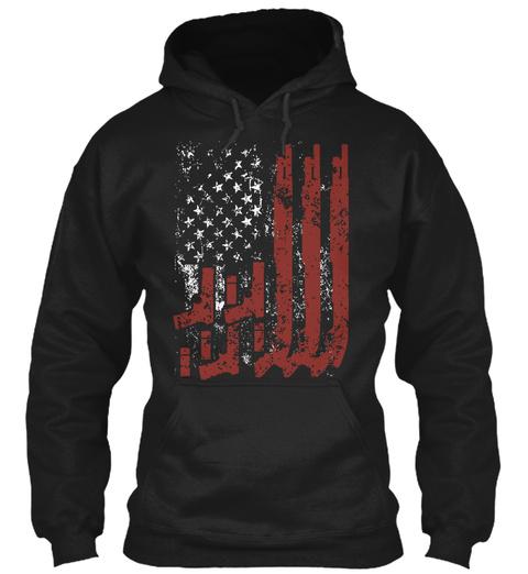 """Never Disarm"" Limited Ed. Tees! Black Sweatshirt Front"