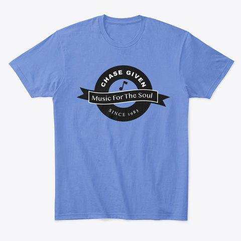 Chase Given   Classic T Heathered Royal  T-Shirt Front