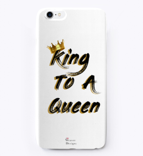 King To A Queen Standard T-Shirt Front