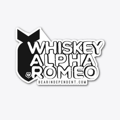 Whiskey Alpha Romeo Standard T-Shirt Front