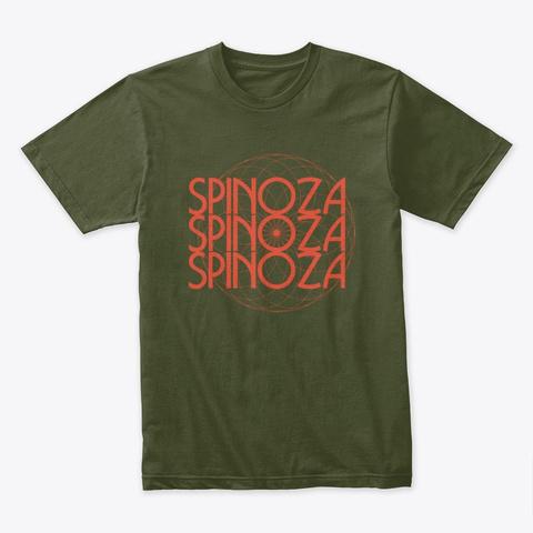 An Military Green T-Shirt Front