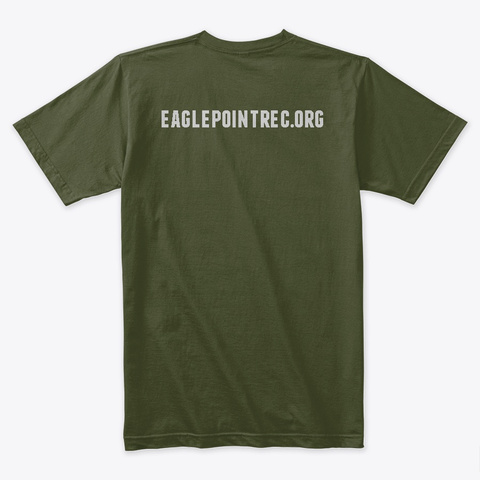 F#Ck Ptsd Merchandise Military Green T-Shirt Back