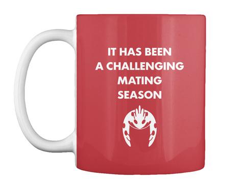 Challenging Season Mug [Usa] #Sfsf Bright Red Mug Front