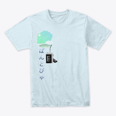 Summer Vibes.Flac Light Blue T-Shirt Front