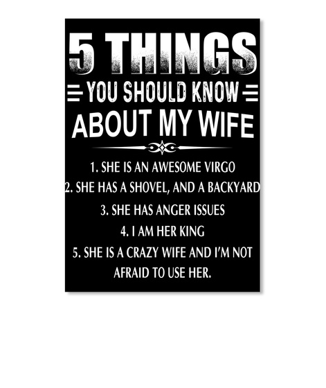 5 Things Should Know My Wife Virgo