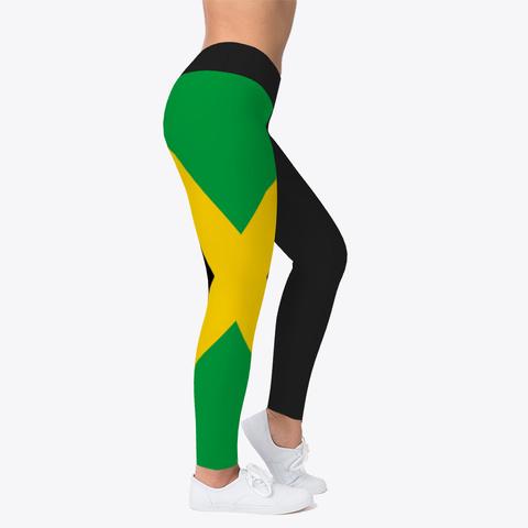 Official Jamaica Leggings Black T-Shirt Right