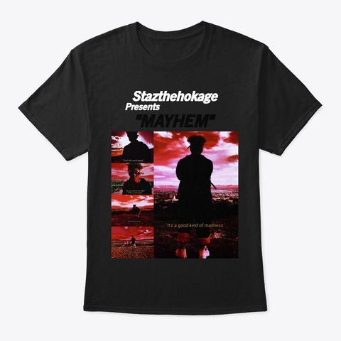 Mayhem (Story Edition) Black T-Shirt Front