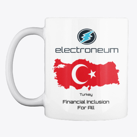 Etn   Turkey Financial Inclusion Mug White T-Shirt Front