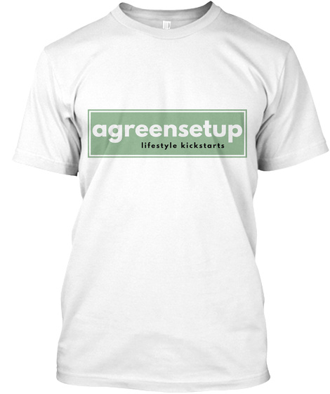 The Tee White T-Shirt Front
