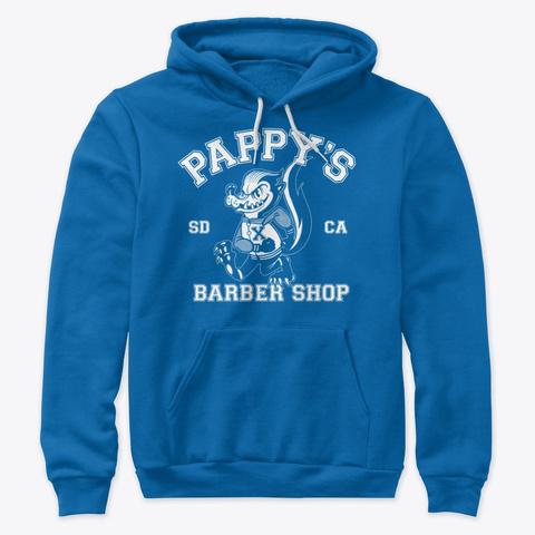 Pappy's Skunk Design True Royal T-Shirt Front