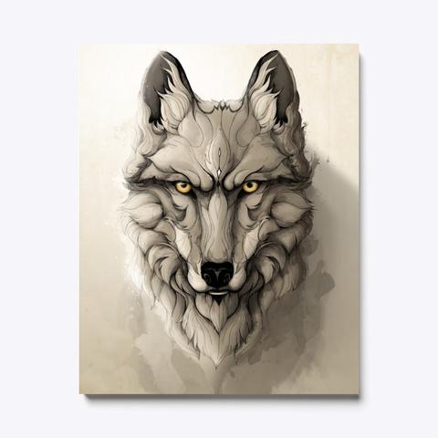 Wolf Wild Animals Standard T-Shirt Front