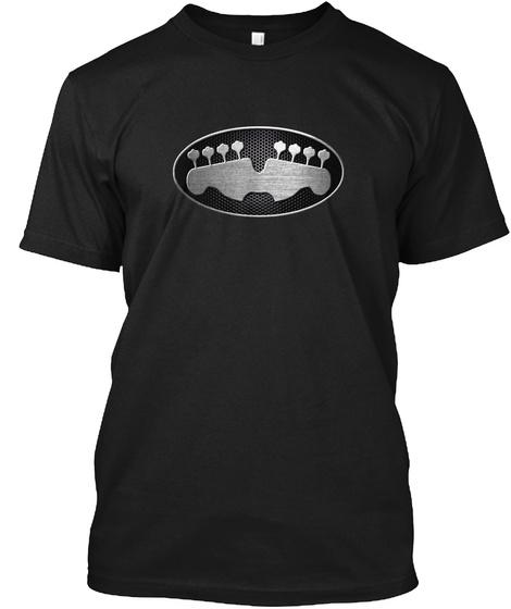 Bassman Returns   Music  Black T-Shirt Front