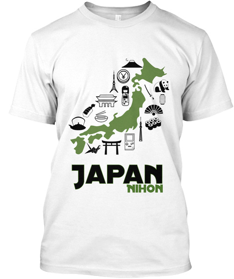 Japan Nohon White T-Shirt Front