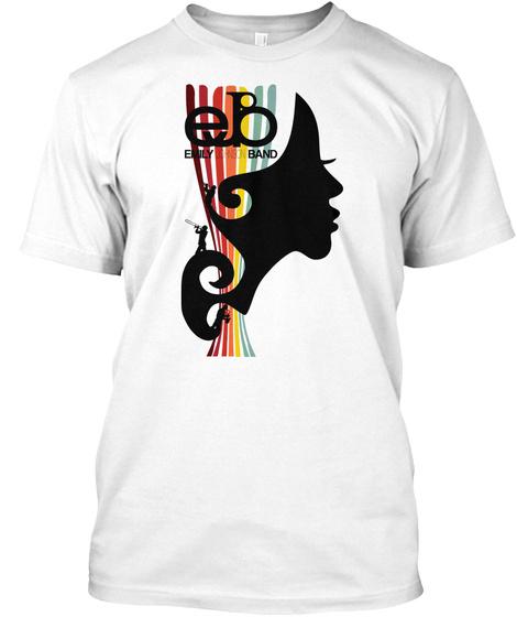 Eb Emily Band White T-Shirt Front