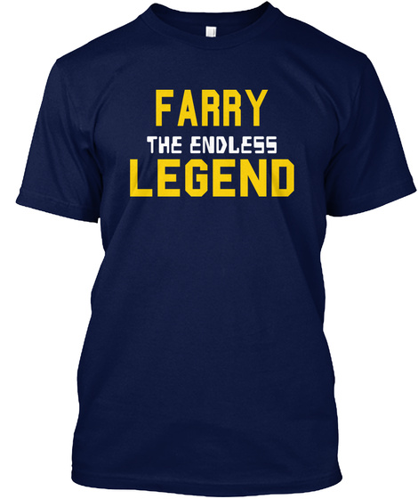 Farry The Endless Legend Navy T-Shirt Front