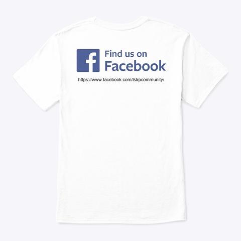 Lslrp Store White T-Shirt Back