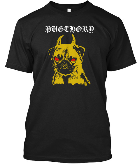 Pubthord Black T-Shirt Front