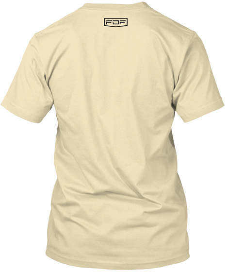 I'm Woke And Alert Fdf Shirt Cream T-Shirt Back