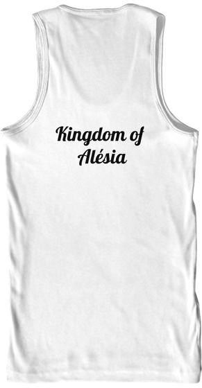 Kingdom Of  Alésia White Tank Top Back