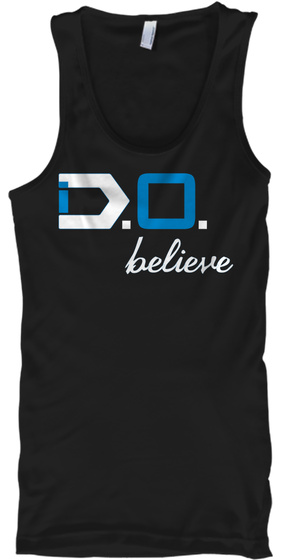 I Do Believe, By Dre Oneil Black T-Shirt Front