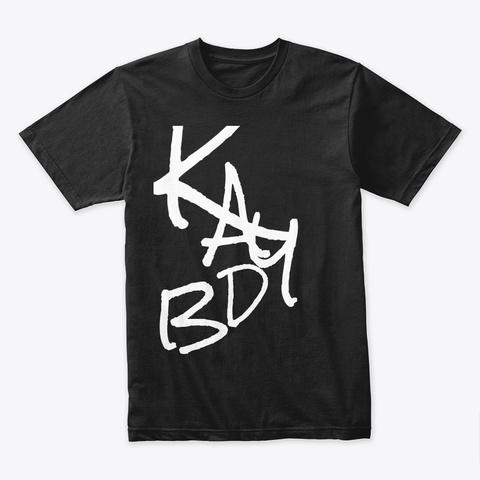 Kay Db Merch Store Black T-Shirt Front