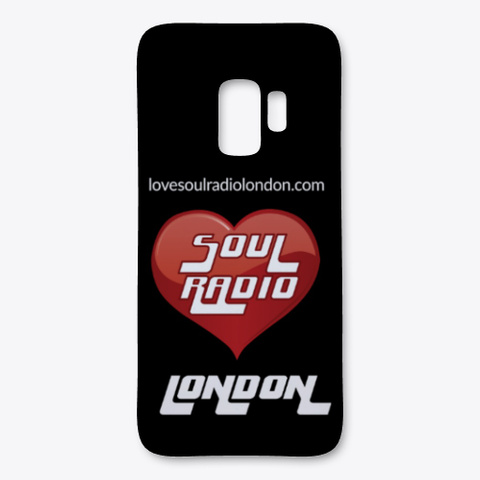 Love Soul Radio London Black T-Shirt Front