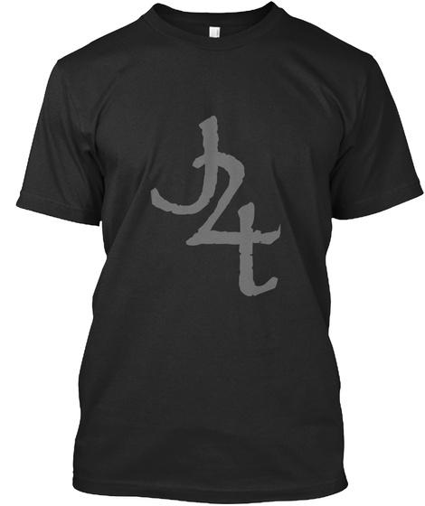 J2t Black T-Shirt Front