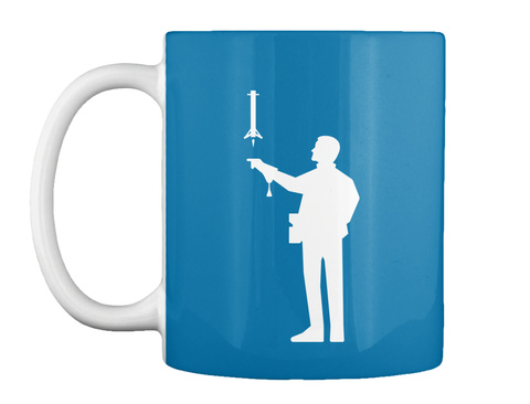 Falconer 2 Man Mug [Int] #Sfsf Royal Blue Mug Front