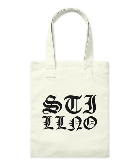 Stj Llao Natural Tote Bag Front