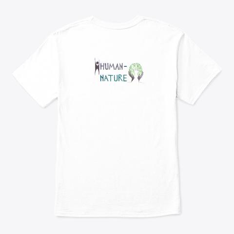 """Stand Strong""   Angel Oak (Design #1) White T-Shirt Back"