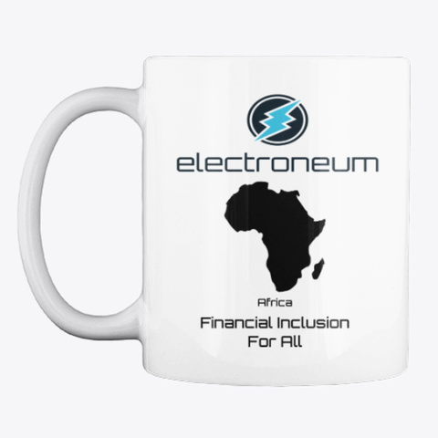 Etn   Africa Financial Inclusion Mug White T-Shirt Front