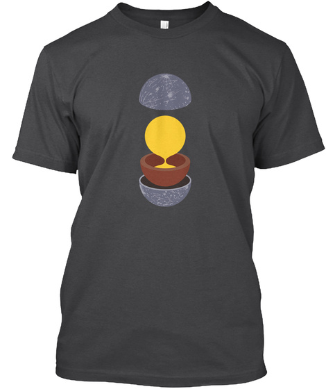 Layers Mercury V [Int] #Sfsf Dark Grey Heather T-Shirt Front