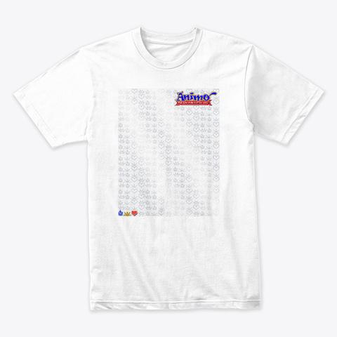 Unleash True Power White T-Shirt Front