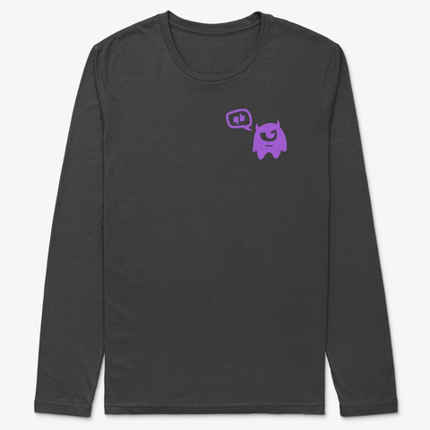 Gamer Bias Half Logo Black T-Shirt Front