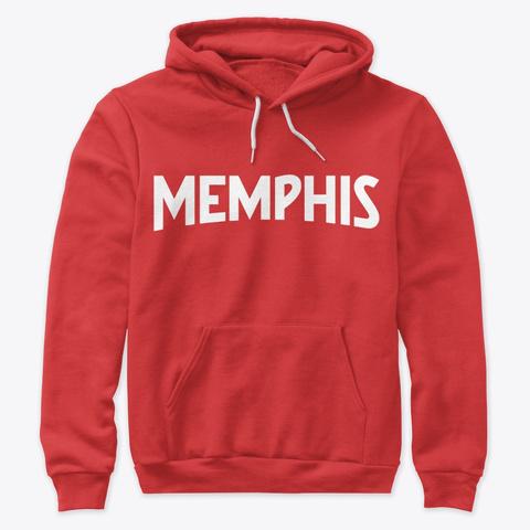Memphis Red T-Shirt Front