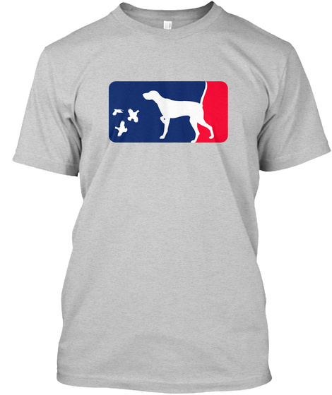 Pointer Spring Training Shirt   Quail Light Steel T-Shirt Front