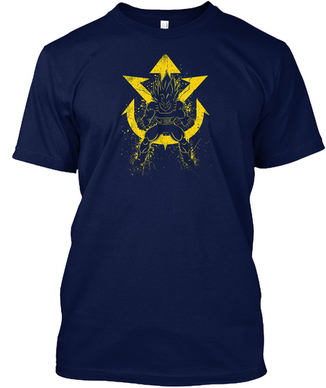 Transformation Shirt Navy T-Shirt Front
