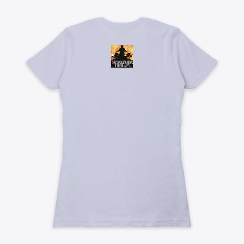 Cute Don't Be A Shitpile Shirt Heather Gray  T-Shirt Back