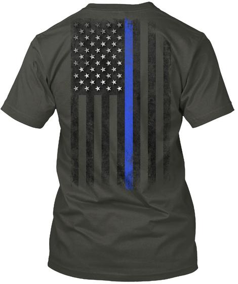 K 9 Unit Smoke Gray T-Shirt Back
