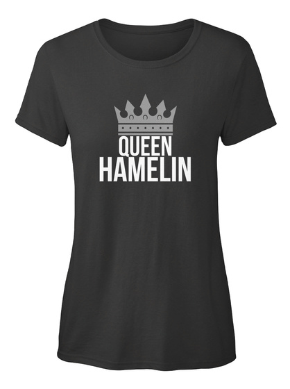 Hamelin   Simply Queen Hamelin Black T-Shirt Front