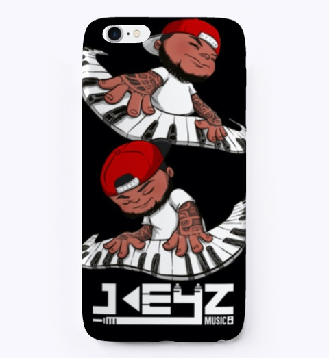 Character I Phone Case Black T-Shirt Front