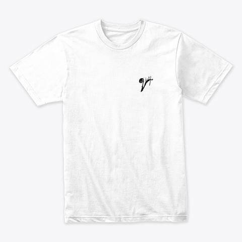 Verboze   X   Unisex T Shirt   White White T-Shirt Front