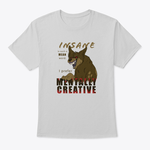 Cobalt Is Creative Light Steel T-Shirt Front