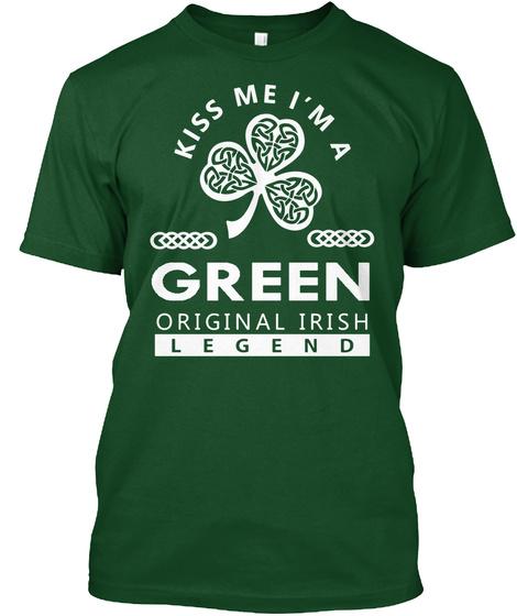 Green Deep Forest T-Shirt Front