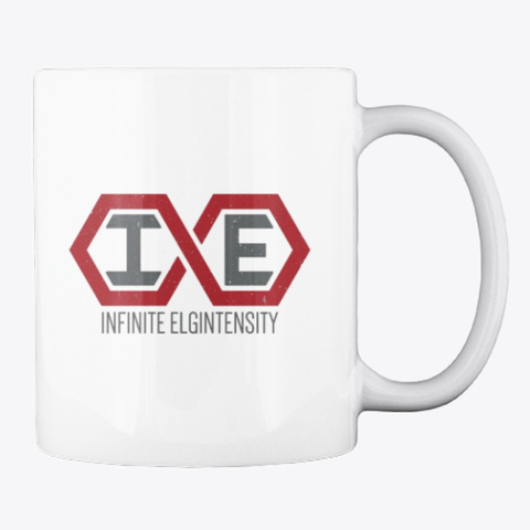 Infinite Elgintensity White T-Shirt Back